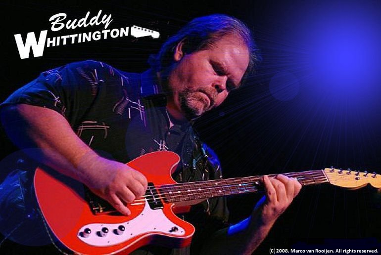 Texas Blues Guitar legend Buddy Whittington